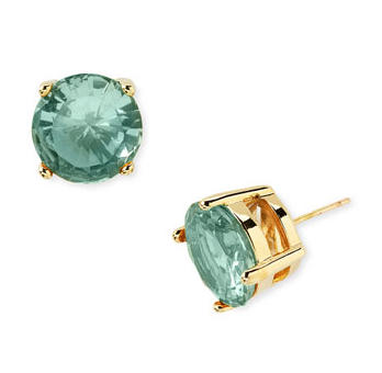 these subtle yet gumdrop sized studs will make any girl light up. i wear my black ones just about everyday, but each of these candy coated colors is a must have.
