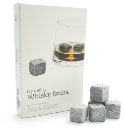 perfect for whiskey, scotch or bourbon lovers. these soapstone rocks keep the drink perfectly cool with out watering it down the way ice will...